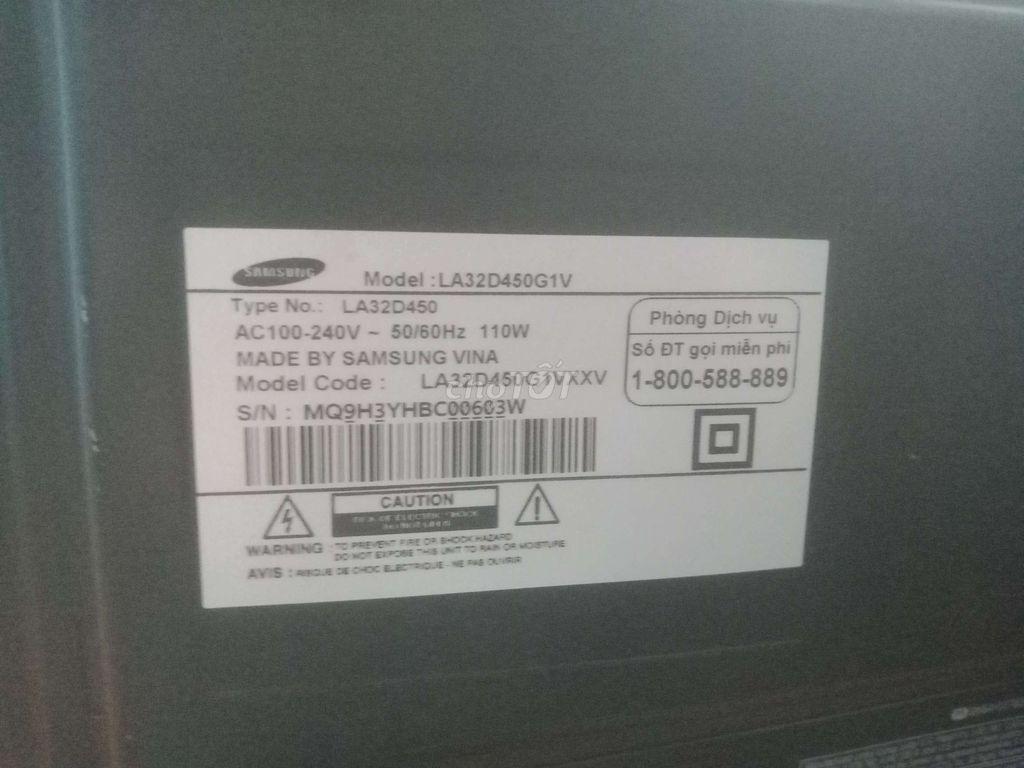0908914923 - Cần bán tivi lcd samsung 32inch đang dùng tốt