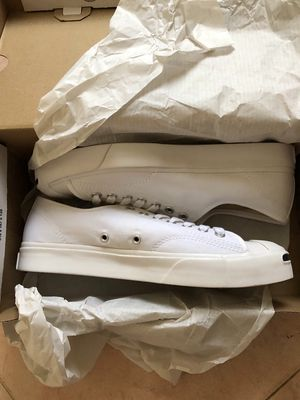 Converse Jackpurcell full trắng 41 new 100%