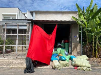 Nhà kho kiên cố thành phố Châu Đốc, tỉnh An Giang