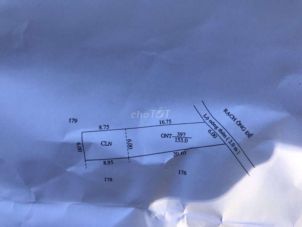 Nền lớn thổ cư giá rẻ cách chợ Mỹ Khánh 200m