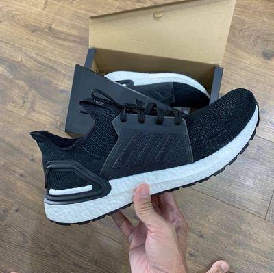 Adidas ultra boost mens core white black