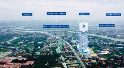 Căn hộ Rivana view sông Sài Gòn thanh toán 200tr
