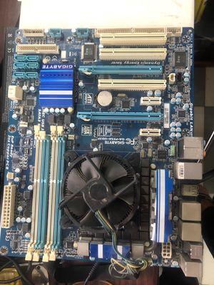 Combo Mainboard Gigabye + i7: 900k