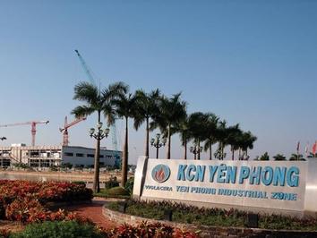 Đất Khu công nghiệp Yên Phong 2C- Bắc Ninh 10000m²