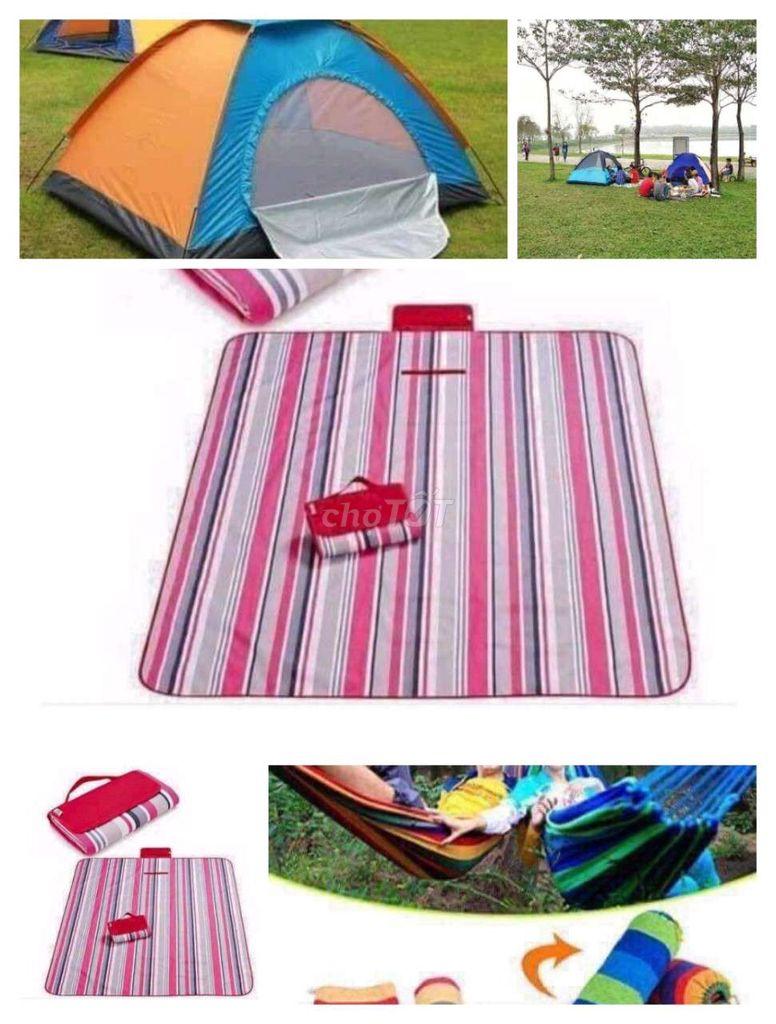 Combo du lịch gồm trại thảm và võng 499k/set ✨✨✨✨✨