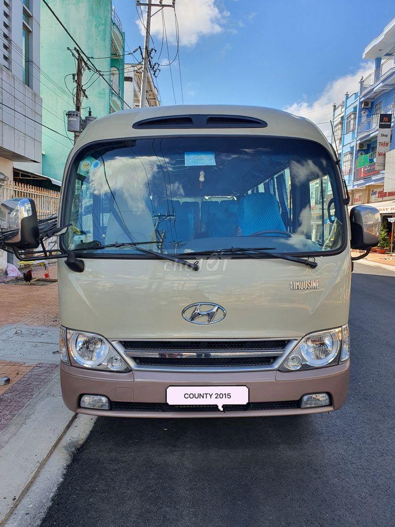 Hyundai County 2015 - hàng 3 cục