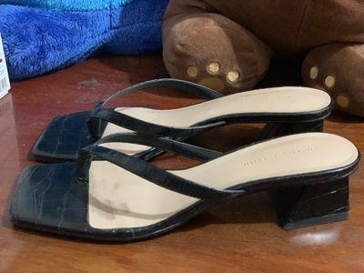 Già cao gót sandal Charles & Keith chính hãng