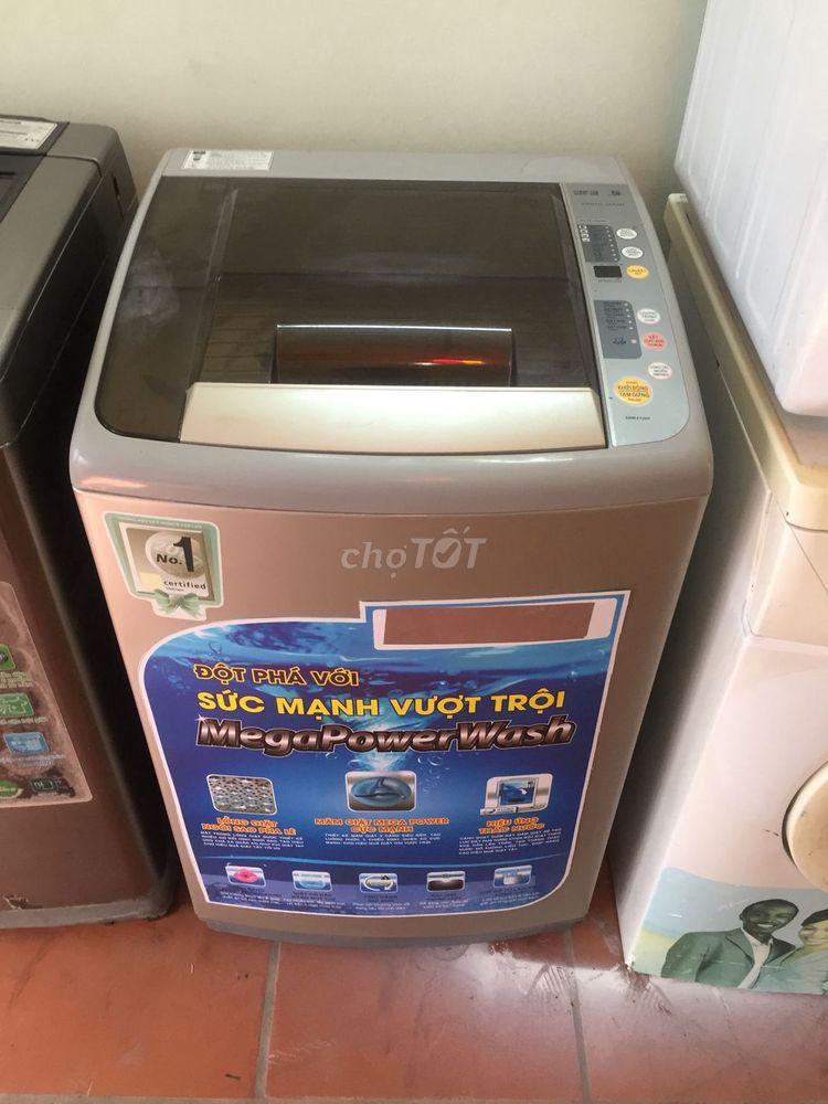 máy giặt AQUA SANYO 8,00kg zin 100%mới 86%