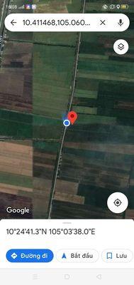 Đất trồng lúa 3 vụ có đường xe tới chỗ