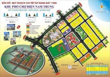 Đất Khu phố chợ Điện Nam Trung 100m²
