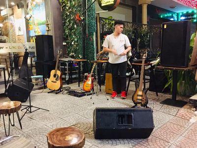 Dàn Loa Acoustic cho quán Cà Phê
