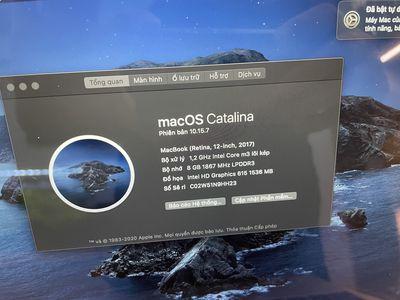 Macbook 12inch 2017 ssd 256GB SILVER