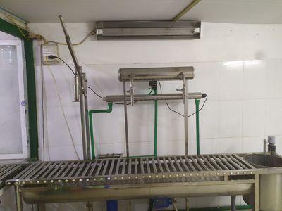 Xưởng sản xuất nước uống tính khiết đóng bình 19l
