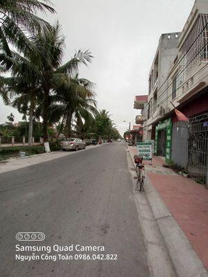 Bán 2 mảnh đất mặt đường Đức Thắng - Q Đồ Sơn