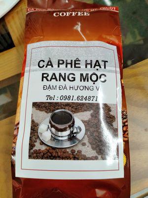 Cafe hạt rang mộc - Hương vị đậm đà