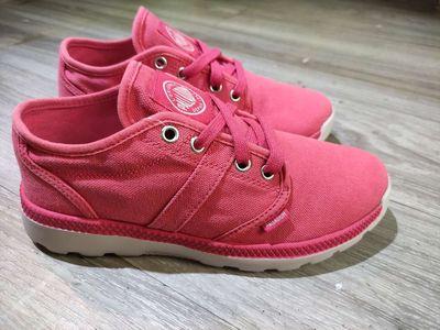 Giày vải palladium cập bến size nữ