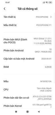 Xiaomi Poocphone F1 6/64