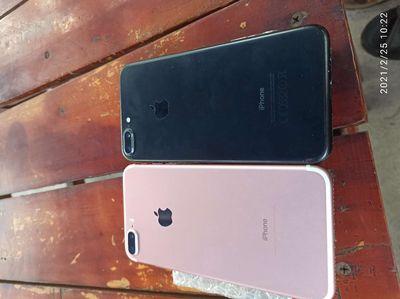 Apple iPhone 7 plus Đen  hồng 128 GB