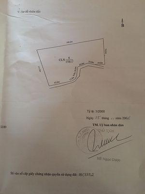 Mặt đường gần Thị Trấn Lương Sơn, giá chỉ 65.000/m