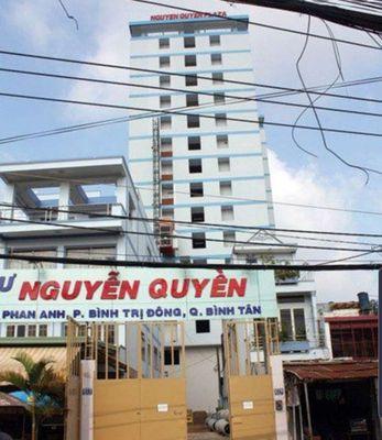 Chung cư Nguyễn Quyền Quận Bình Tân 56m² 2PN