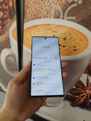 Samsung Galaxy Note 10 Đen 256 GB  màn có 1 chấm