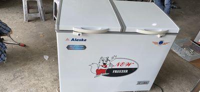 Thanh lý tủ 2 ngăn đông - mát Alaska 350 lít, mới