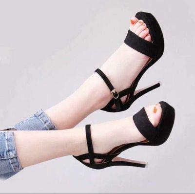 Giày sandal cao gót 9 phân