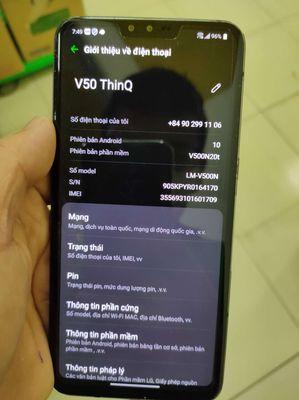 LG V50 ThinQ 5G có gl giao lưu