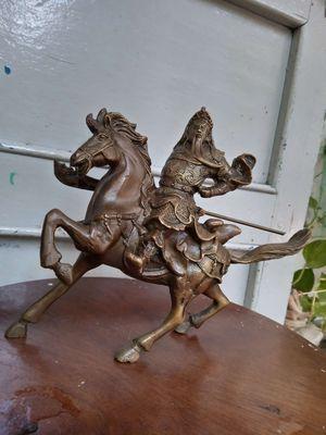 Tựơng quan công cưỡi ngựa bằng đồng siêu đẹp