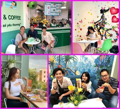 Sang quán Cafe Sữa chua Đinh Tiên Hoàng 160m 320tr