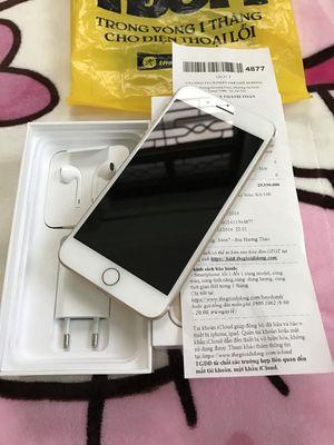 iphone 7 Plus 128 Vàng hồng còn BH Hãng TGDĐ 6T