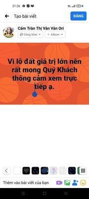 Bán đất 3 mặt tiền Trần Hưng Đạo ngày cầu tình yêu