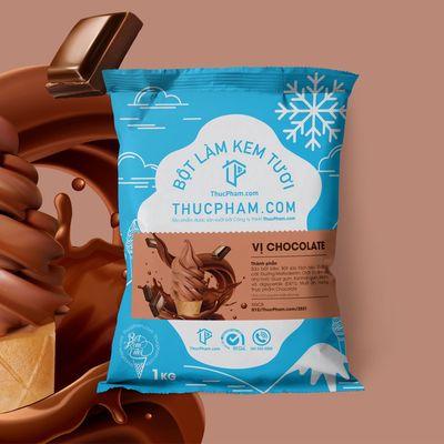 Bột Làm Kem Tươi THUCPHAM.COM Vị Chocolate