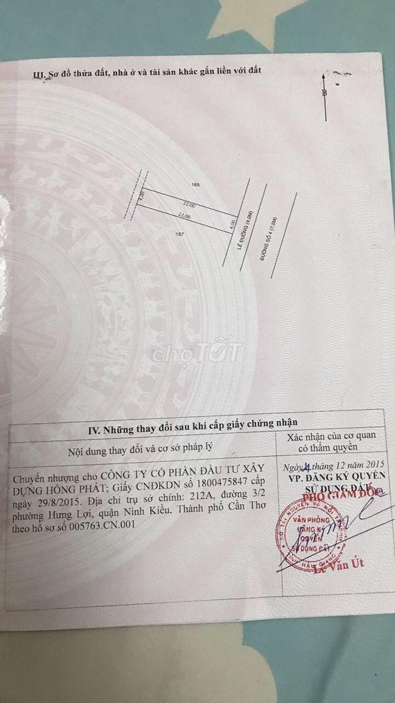 0913780909 - Bán KDC Tân Phú Thạnh, Châu Thành A, Hậu Giang