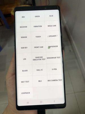Thanh Lý Note 9 Xanh không ám,k đốm 128/6GB