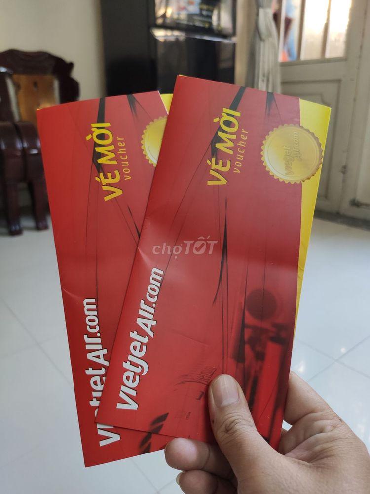 Cần để lại cặp vé khứ hồi nội địa của Vietjet Air