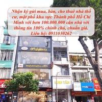 Nhận mua bán, ký gửi nhà đất thổ cư Sài Gòn từ 2 tỷ - 500 tỷ