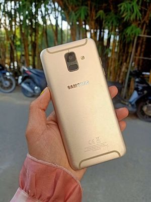 Samsung Galaxy A6 Rin pin trâu