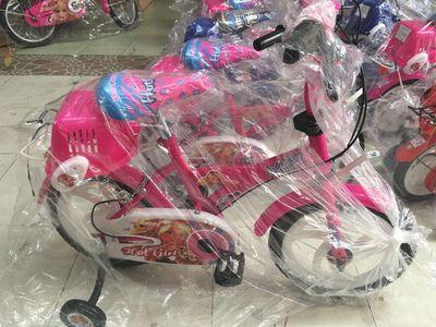 Xe đạp bé gái Nhựa Chợ Lớn (Mới 100%, có 50 chiếc)
