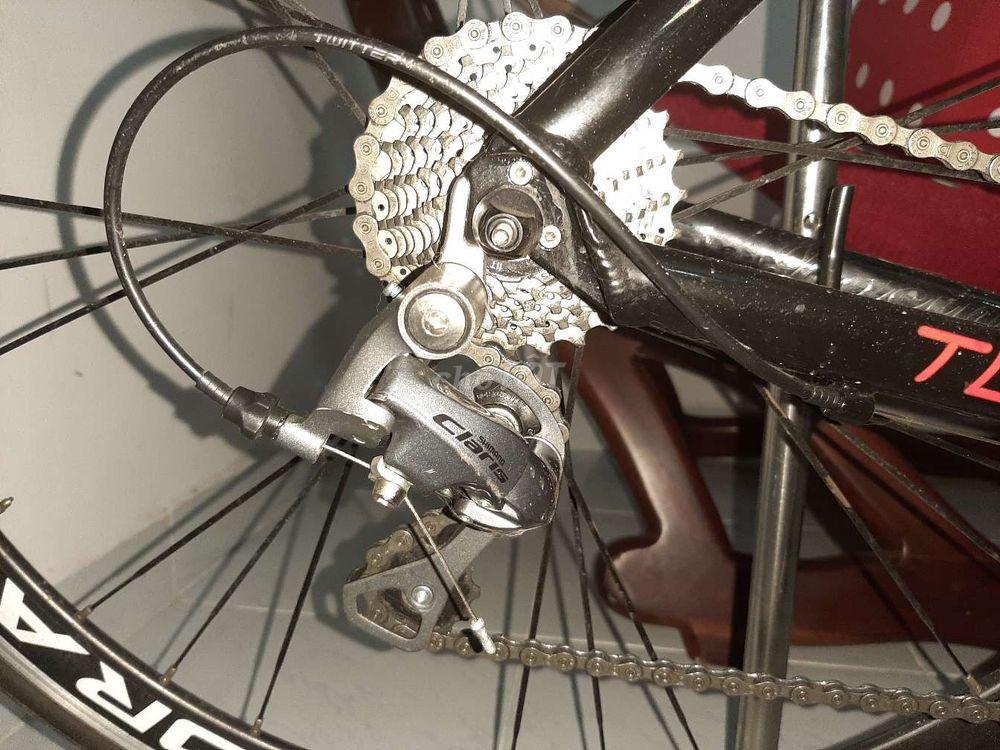 Xe đạp đua twitter 736 còn mới ít chạy