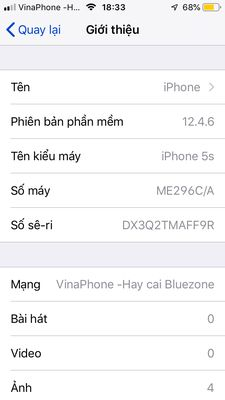 iphone 5S 16G