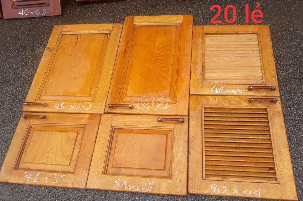 Cánh tủ bếp gỗ _ thanh lý giá Rẻ 100k