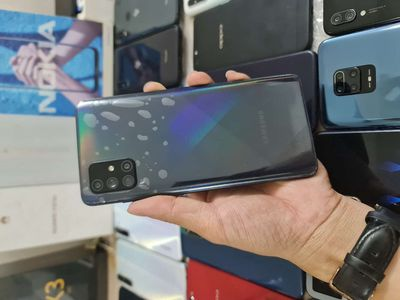 Samsung A71 8G/128G 99% Bh 29/8/2021 TGDĐ CHẤT
