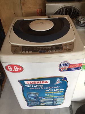 Máy giặt tóhiba 9kg thương hiệu nhật bản