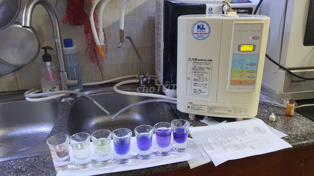 Máy lọc và tạo nước kangen IVy New Clean QII