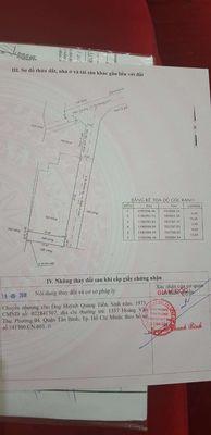 Nhà 4x17 sổ hồng chính chủ giấy phép xây dựng 3t5
