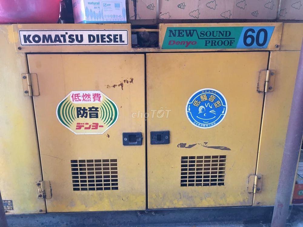 Máy phát điện Komatsu công suất lớn