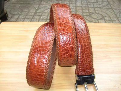 Dây nịt, thắt lưng cá sấu uyên leather