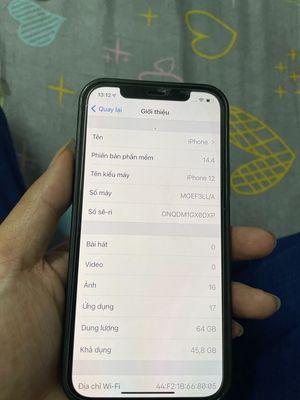 Apple iphone 12 64gb quốc tế