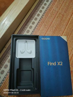 Oppo find x2 full box bh tháng 5/2021